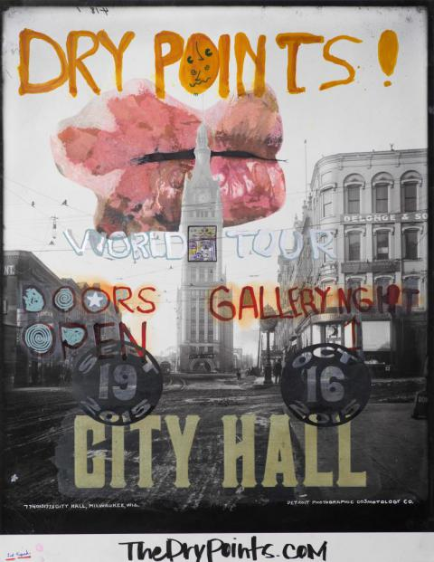 Dry Points City Hall Poster