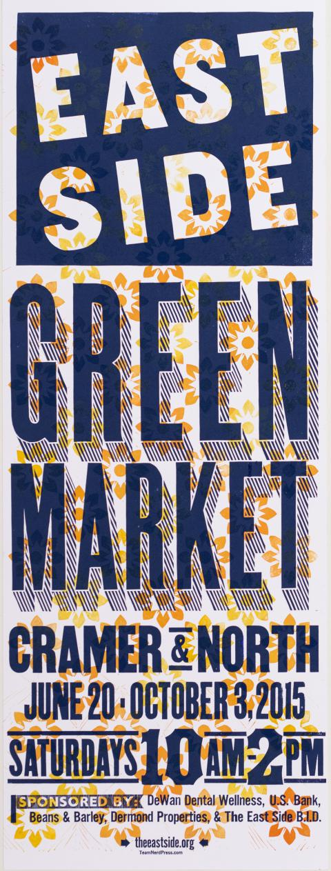 Poster and Banner Design for East Side Green Market